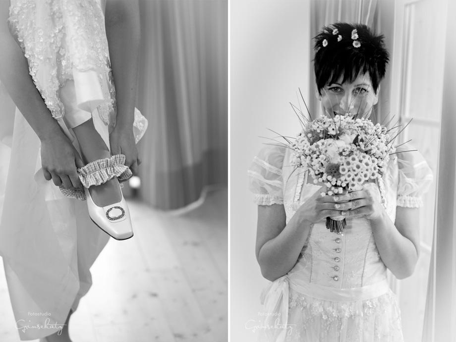 Braut Uckermark Mecklenburg Hochzeitsfotos