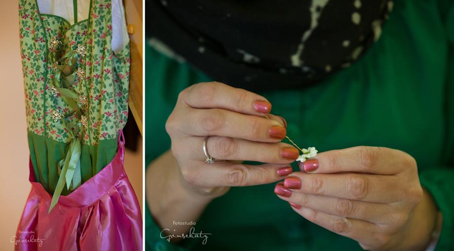 Hochzeitsmakeup Hochzeitsvorbereitung fotograf grinsekatz