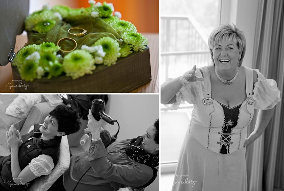 bridal preparation getting ready grinsekatz