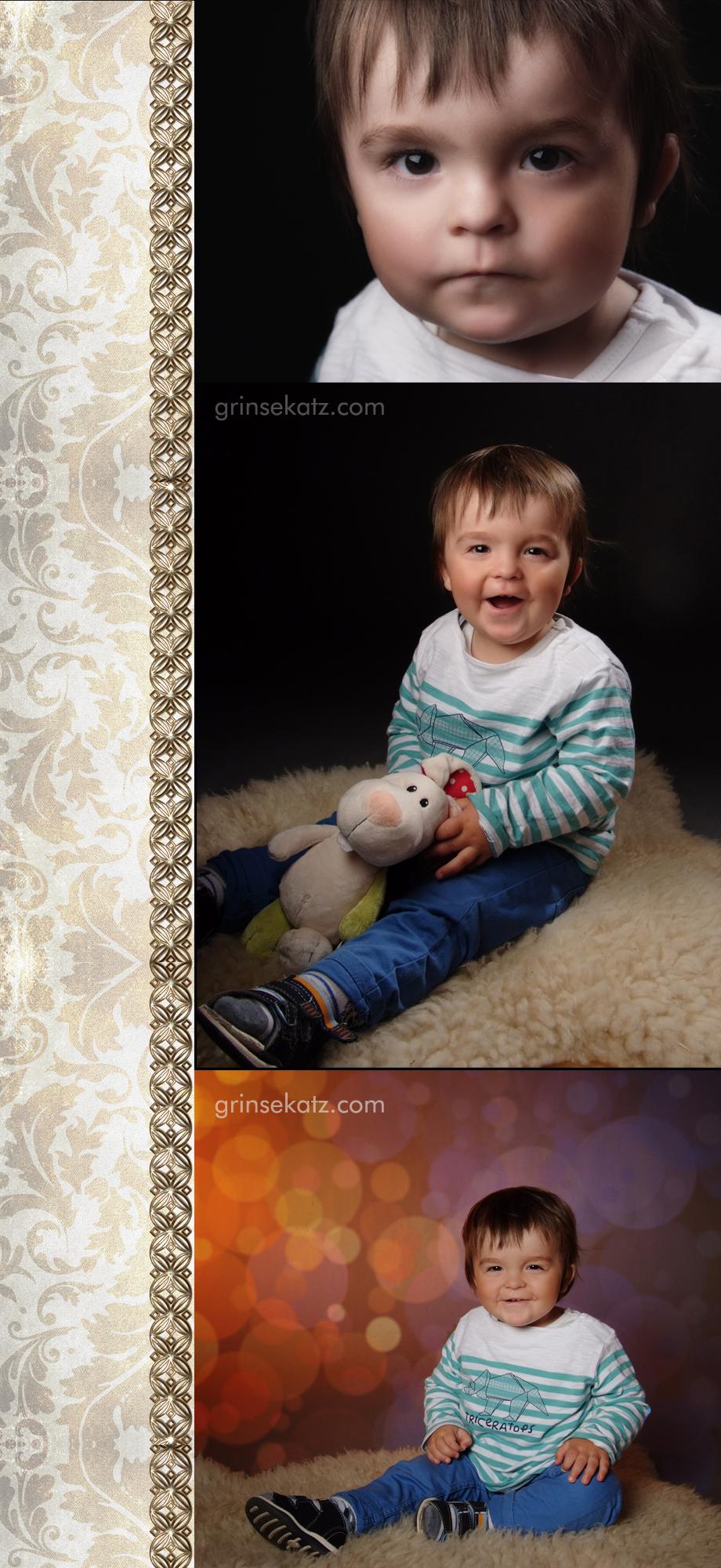 Kinderfotograf Templin Grinsekatz