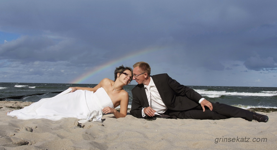 wedding photographer berlin beach honeymoon grinsekatz