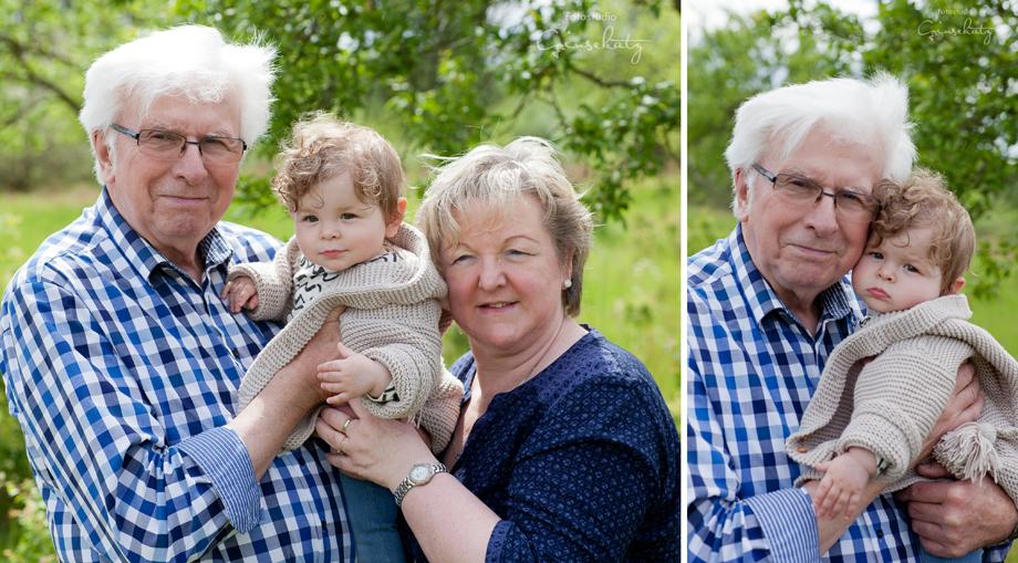 großeltern enkelkind fotografie grinsekatz